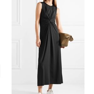 Make Offer Theory Jersey Twist Front Midi Dress